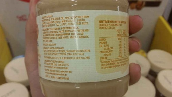 Nutted Out Nutrition - nut spread