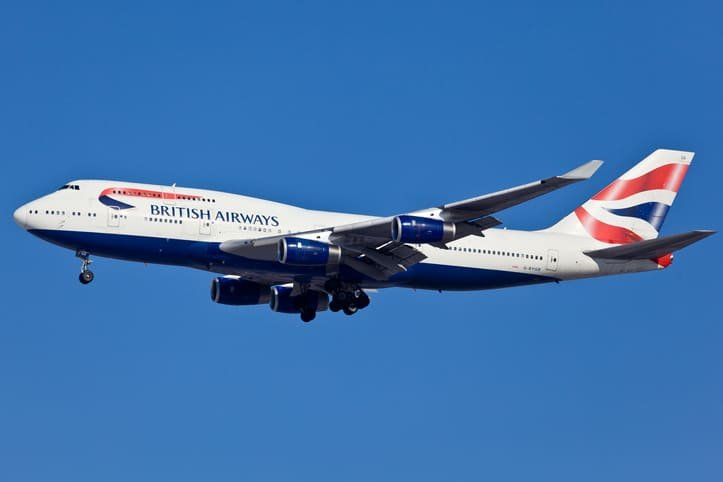 Boeing 747-400 British Airlines - Why the type of plane can impact your meal
