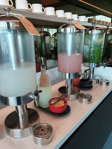 Quench Hydration Station - Qantas Business Class Lounge Melbourne (Domestic)