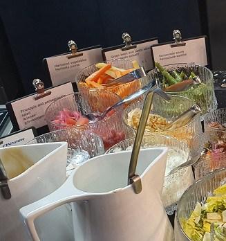 Pickled vegetables - Finnair Platinum Wing