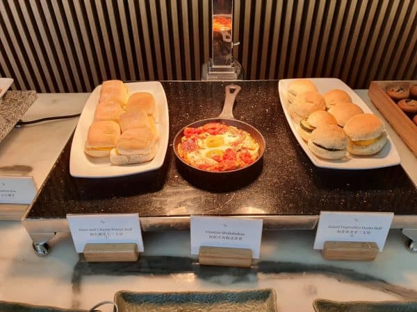 The Wing, First Class, Cathay Pacific buffet options