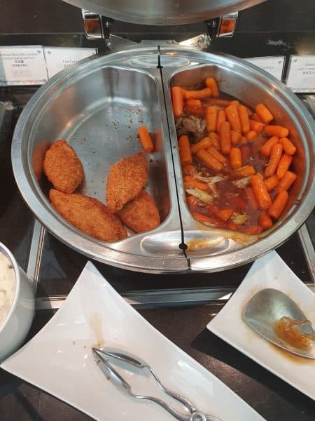 Fish Fillets and a Carrot and Beef dish