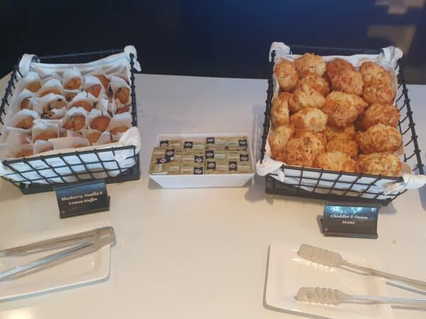 Muffins and Scones Air NZ Lounge