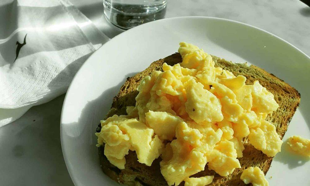 Nutrition Review: Qantas Melbourne Domestic Business Class Lounge (Breakfast)